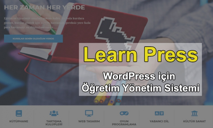 Learn Press – WordPress için Öğretim Yönetim sistemi